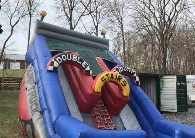 Dump Truck Dual Slide